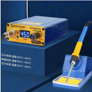 T12 Pro Soldering Iron Station with Auto Function- Mechanic