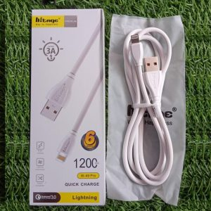 iPhone Lightning Cable 3Amp Fast Charge & High Data Speed